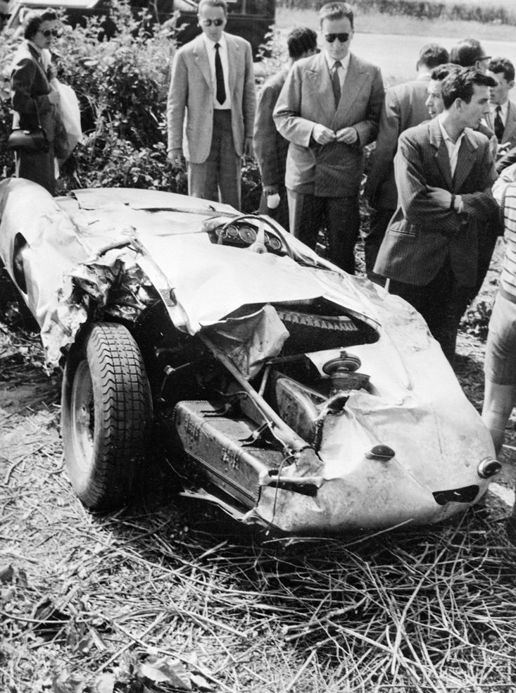 L'incidente che ha ucciso Alberto Ascari
