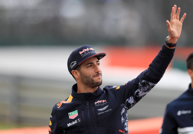 Daniel Ricciardo has had to retire in four of his last six races
