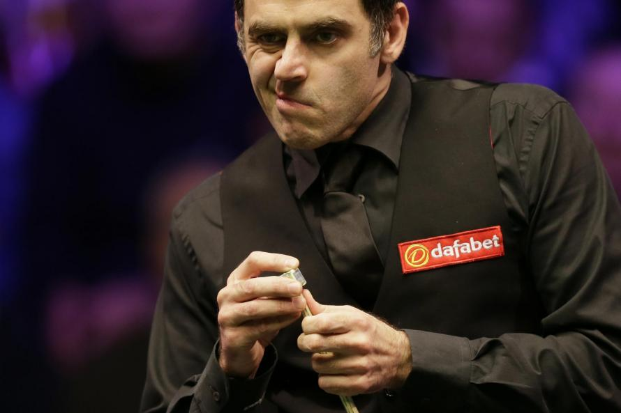 Ronnie O'Sullivan Is Not Happy At The English Open