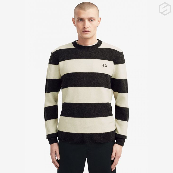 SM Insta Fred Perry Crew Neck Jumperjpg