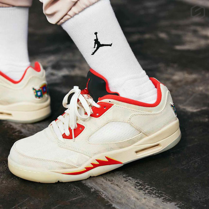 SM Insta Nine CNY Air Jordan 5jpg