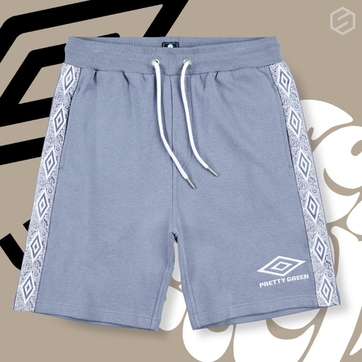 SM Insta Umbro Pretty Green Shortsjpg
