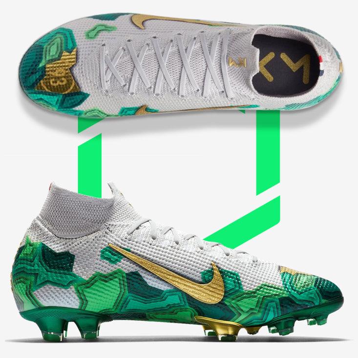 Kylian Mbappe's New Nike Bondy Boots