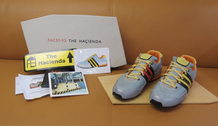 The limited edition Hacienda-influenced trainers made by Y3