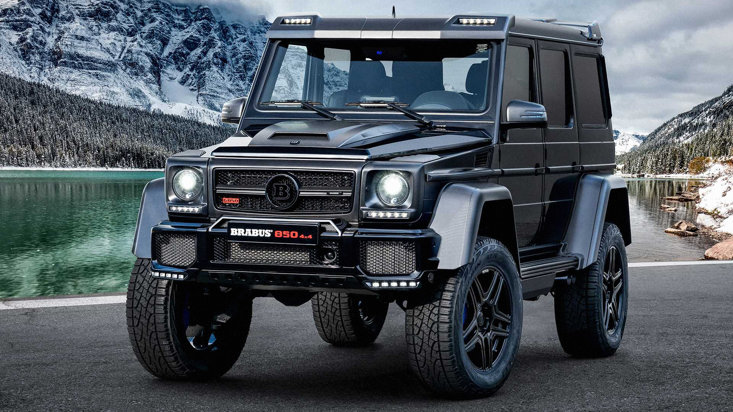 Brabus 850 6 0 Biturbo 4x4 Final Edition Mercedes Benz G Classjpg