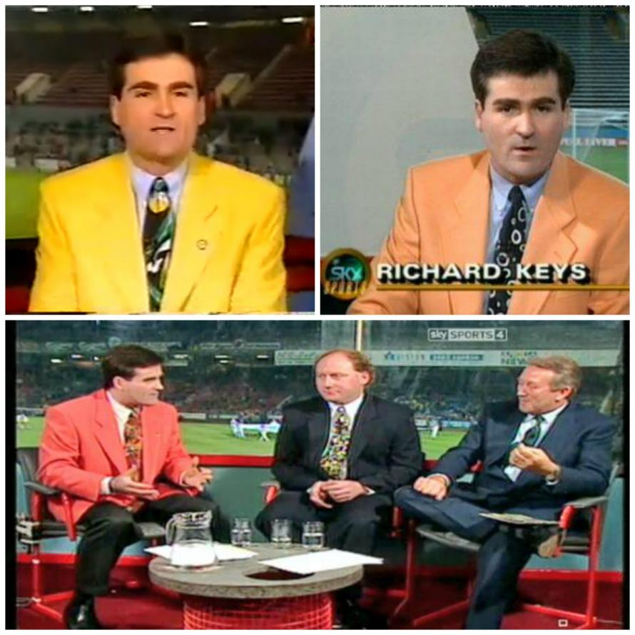 Keys was a true fashion icon in the football punditry world