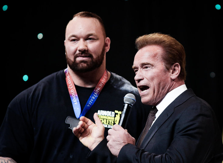 The Mountain And The Terminator