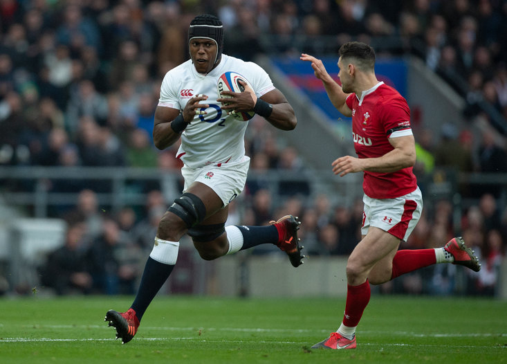 MARO ITOJE HAS BECOME A KEY FIGURE IN THE ENGLAND SIDE