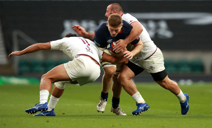 JACK WILLIS HAS EMERGED AS A POTENTIAL STAR IN THE BACK ROW