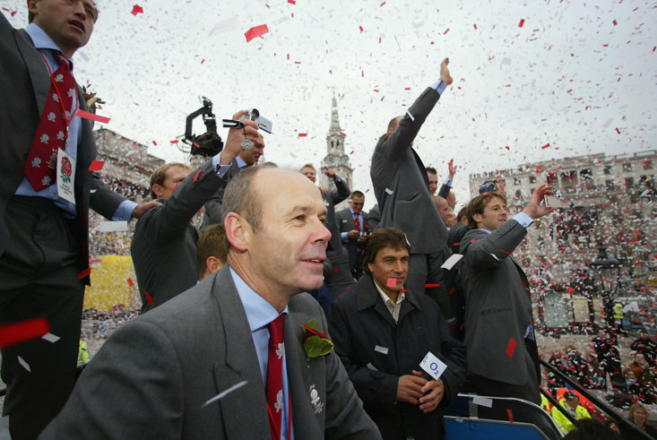 Woodward famously guided England to Rugby World Cup glory in 2003