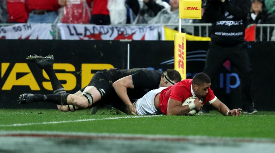 Fiji S Nemani Nadolo Scores A Try Against Wales During End Of Year Test