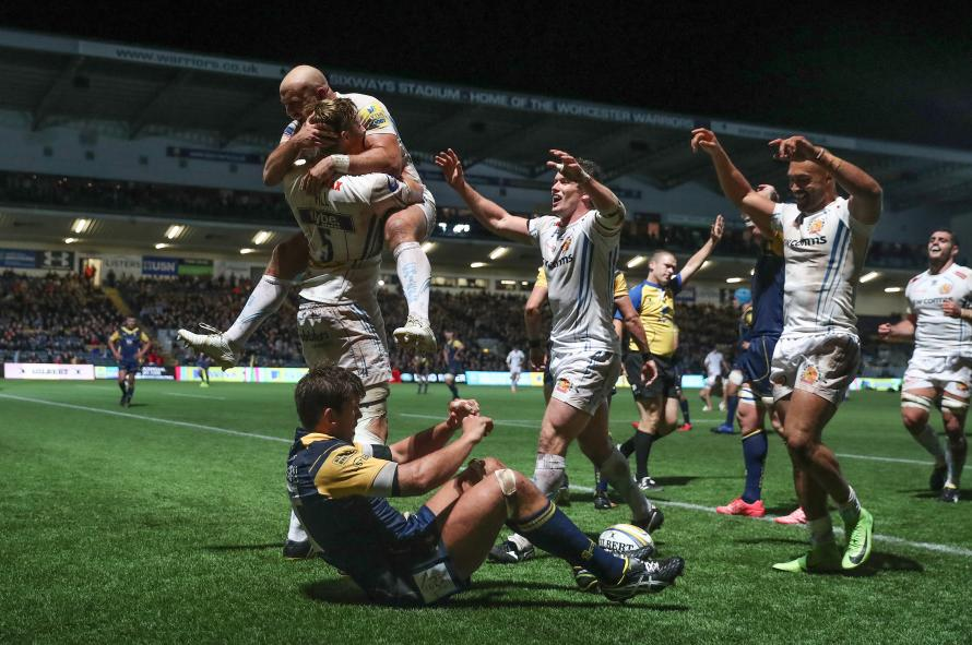 Wasps' record 20-win home run ended Quins