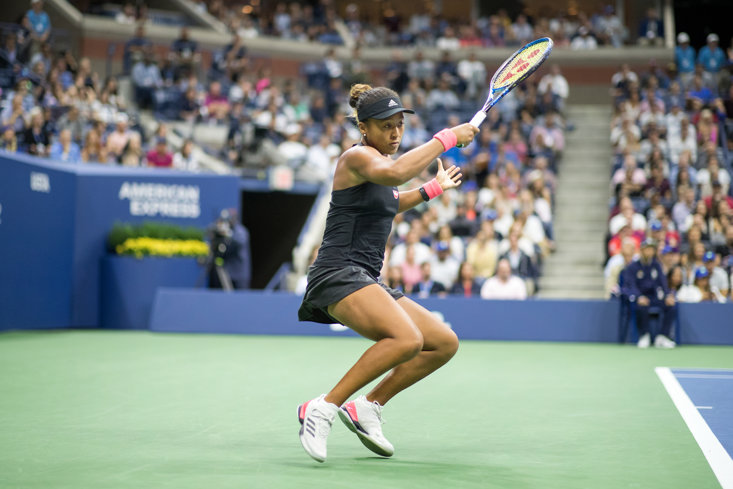 Osaka En Route To Beating Williams At The 2018 US Open