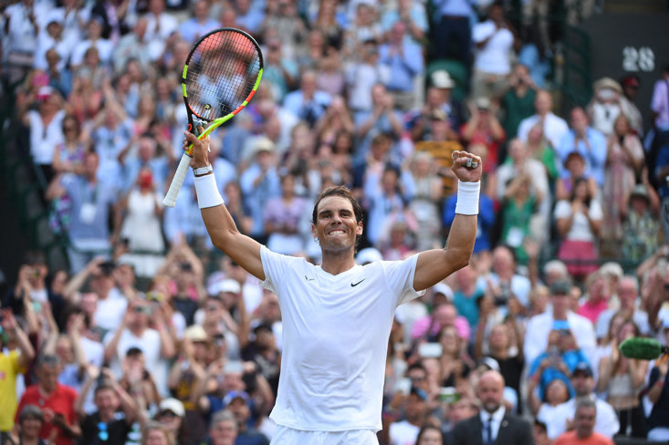 Nadal is chasing his third Wimbledon title