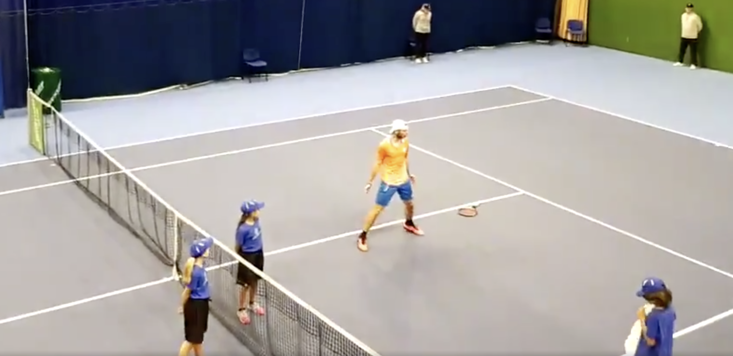 Jurij Rodionov produced this moment of magic after his win