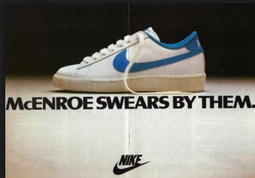 Image result for nike clothing and trainers 1980s