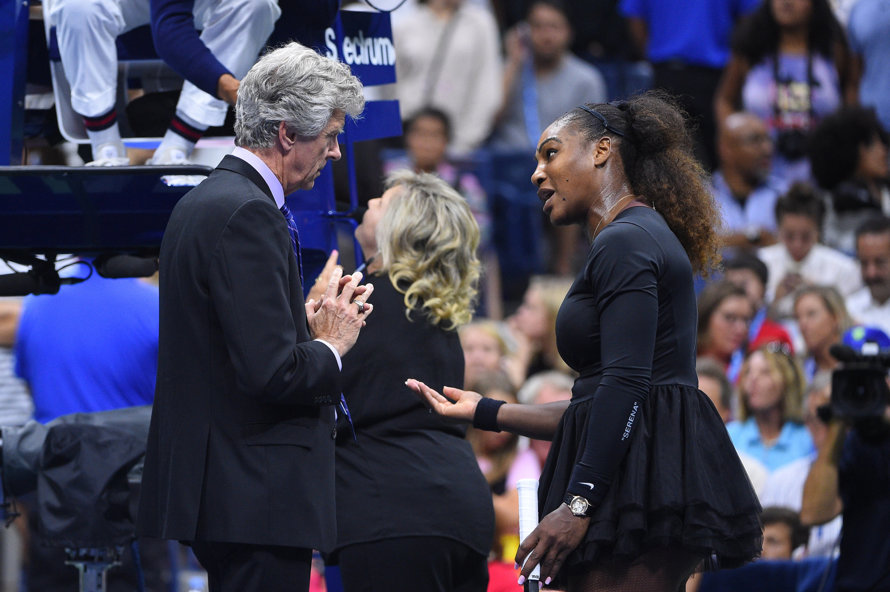 Serena Williams Was Involved In A Heated Dispute With The Umpire