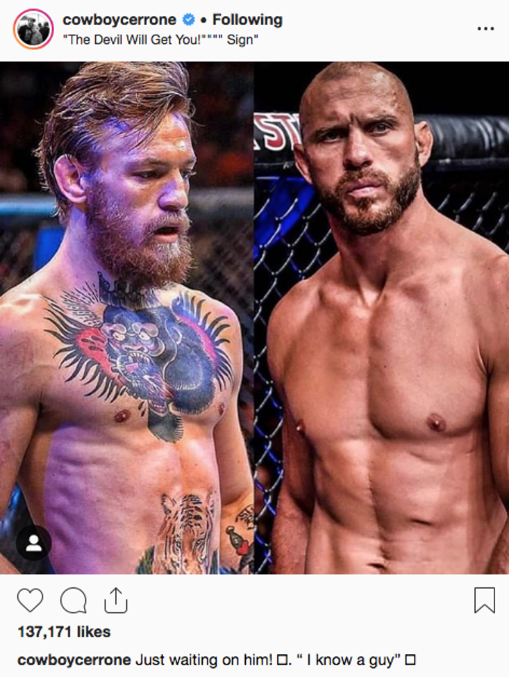 Source: cowboycerrone - Instagram