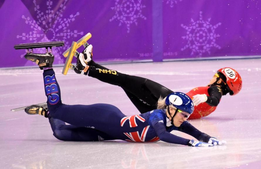 Winter Olympics: Elise Christie faces 'fight against time' to make 1000m